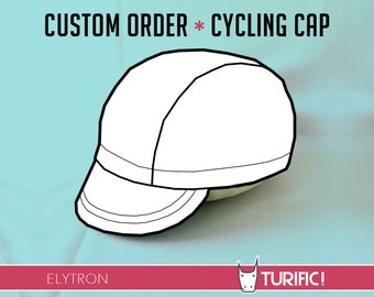 Custom Cycling Cap, Elytron, Cycle Cap, Turific, Fixed Gear Cap