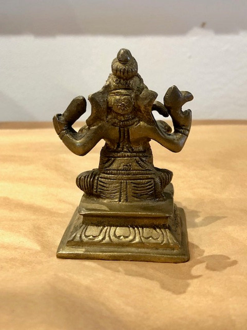 Brass Statue Hindu God Brass Ganesha