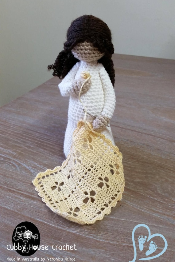 Crochet Pattern Mother To Be Eve Pregnant Mother With Baby Etsy