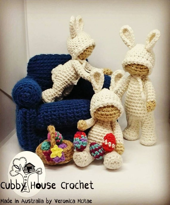 Crochet Pattern Package 4x Patterns Includes A Free Mod Etsy