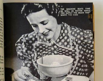 San Francisco Examiner, Prudence Penny Cookbook, Published in 1949! Hardback Book