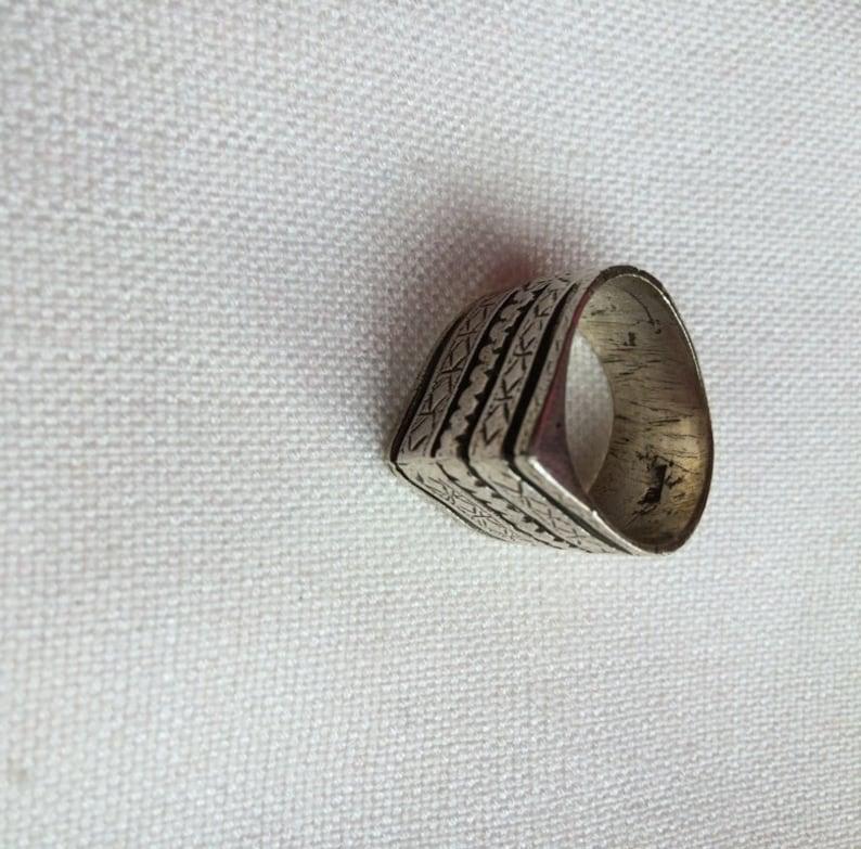 Tuareg design handmade in Cairo Beautiful silver ring