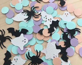 Halloween confetti, pastel halloween, the spooky one, table confetti