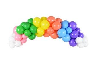 Rainbow Balloon Garland, First Birthday, Baby Shower, Cake Smash, Sunshine Party, St Patrick's Day