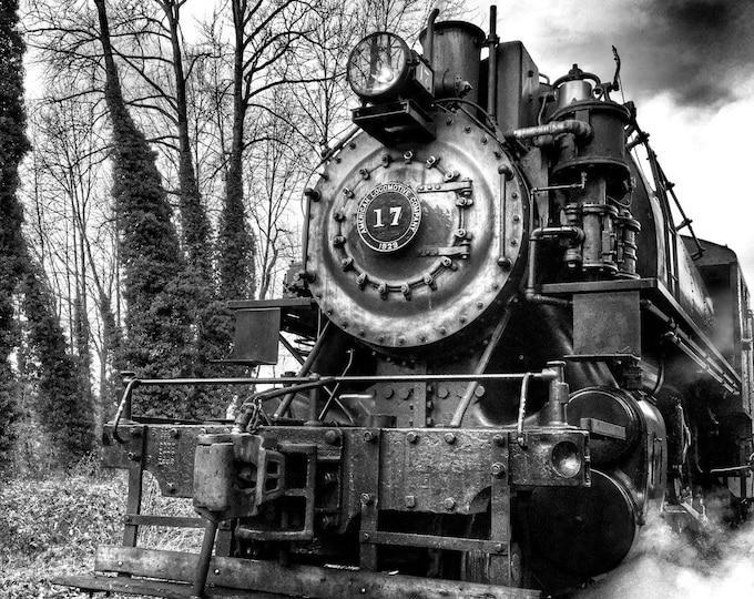 Featured listing image: Train, Vintage, Locomotive, Steam Train