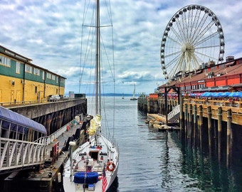 Seattle, Pier 57, The Great Wheel, Washington State
