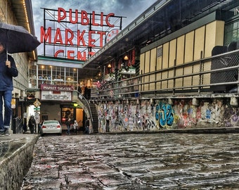 Seattle, Pike Place Market, PNW, Washington State