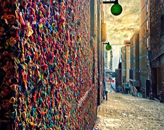 Seattle, Gum Wall, Pike Place Market, PNW, Washington State