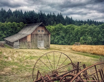 Barn, Vintage, PNW, Washington State