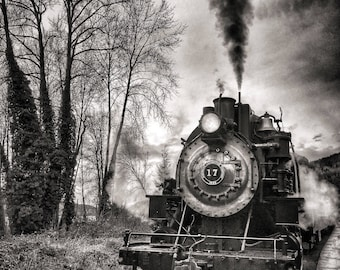 Train, Vintage, Locomotive, Old Steam Train, PNW, Washington State