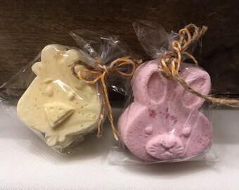 Bath Bomb - Spring Bath Fizzer - Bunny Bath Bomb - Chick Bath Bomb - Bath Bomb - Essential Oil Bath Fizzer - Lavender Bath Bomb