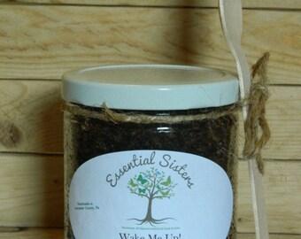 Coffee Body Scrub - exfoliating scrub - natural body scrub- 8 oz scrub- body polishing scrub - sugar scrub - foot scrub
