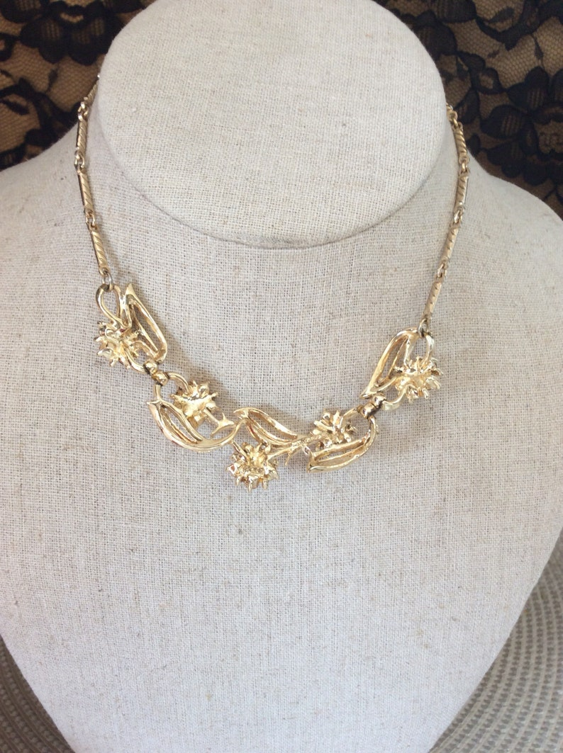 Vintage Coro Necklace and earrings