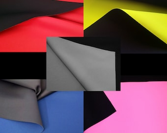 5mm Neoprene Fabric Remnants For Face Masks Nylon Rubber Sheets Black Foam Roll 3mm 2mm Scuba Stretch Fabric Thin Wetsuit Material 1mm