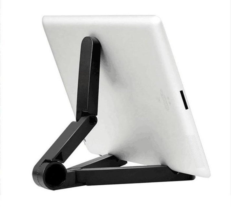 iPad Stand Kitchen Tablet Stand - Tablet Holder - Universal Folding Stand -  Smartphone iPhone E-Reader Support