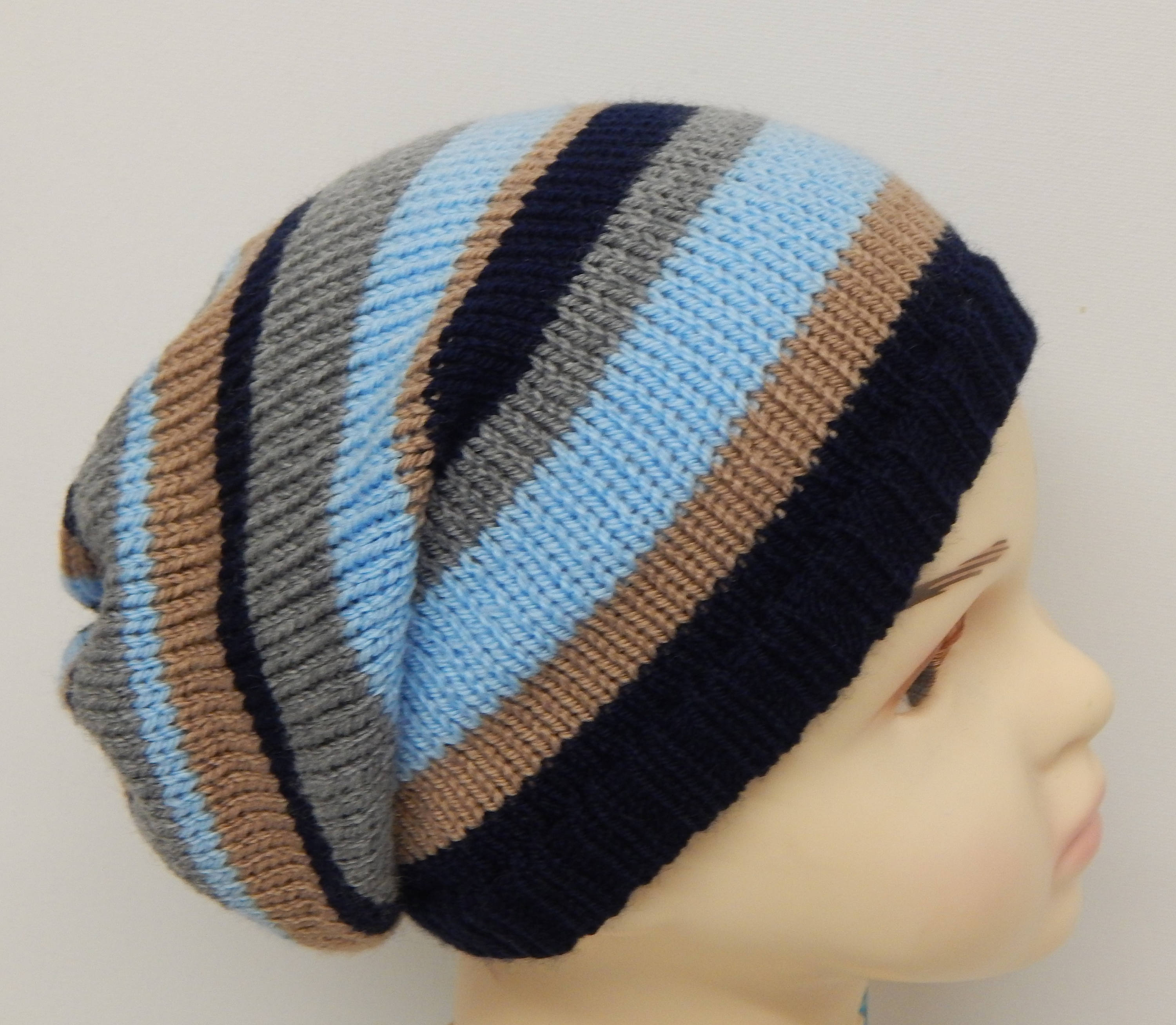5f6bf799738 Knitted boy s winter hat knit kids slouchy beanie