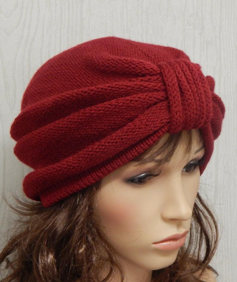 353af6a0018 Womens turban knitted turban hat full turban hat handmade