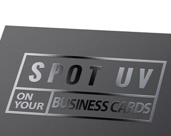 200 custom offset printed business cards with premium paper etsy business cards printing wt spot uv coating custom offset printed cards with standard coated paper colourmoves