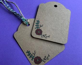 Handmade Kraft Gift Tags