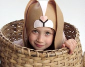 Easter bunny PATTERN DIY costume mask sewing tutorial creative play woodland animals ideas for kids baby children holiday Halloween gift