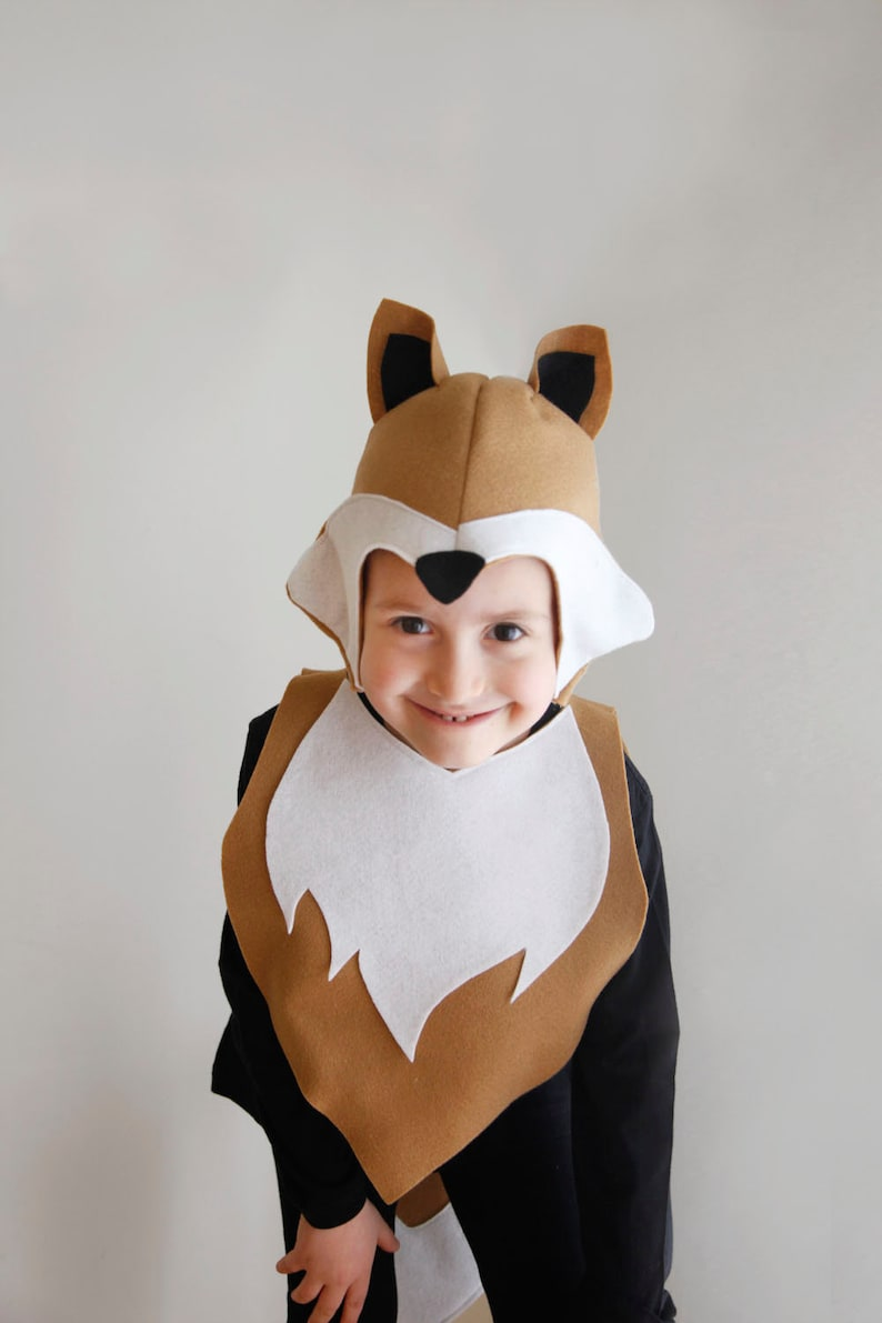 Halloween Kostüme Kinder Nähen.Fox Muster Diy Kostüm Maske Nähen Für Junge Sofortigen Download Waldtiere Ideen Für Kinder Baby Kinder Ostern Urlaub Halloween Geschenk