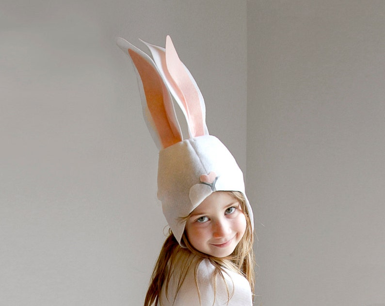 Bunny PATTERN DIY costume mask sewing tutorial creative play image 0