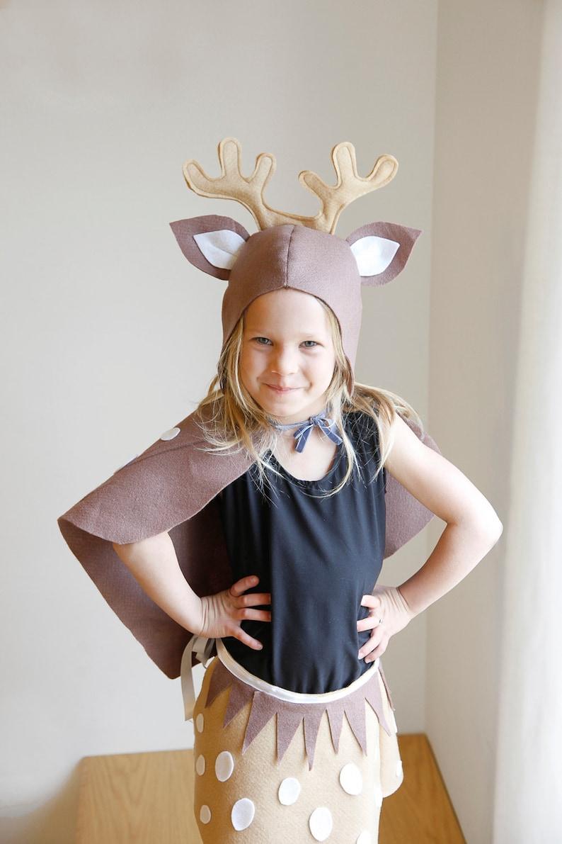 Halloween Kostüme Kinder Nähen.Rentier Diy Muster Kostüm Maske Nähen Tutorial Kreatives Spielen Waldtiere Ideen Kinder Baby Kinder Purim Urlaub Halloween Geschenk