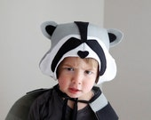Raccoon PATTERN DIY costume mask boy sewing instant download woodland animals ideas for kids baby children easter holiday Halloween gift