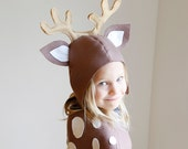 Reindeer PATTERN DIY costume mask sewing creative play woodland animals ideas kids baby children Purim holiday Halloween easter gift
