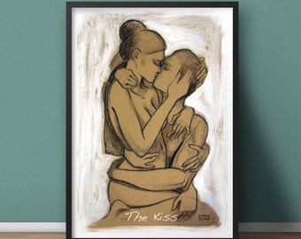 The Kiss poster by Stanislao