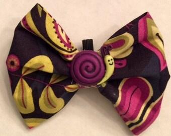 6219e740ea9f Deluxe Mardi Gras bow or bow tie | Etsy