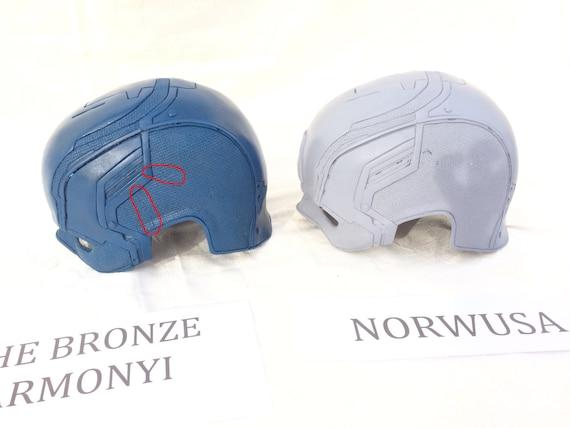 Guerra Civil de Capitán América casco 2016 Norwusa auténtico | Etsy