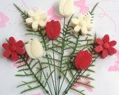Soy Wax Melt Bouquet, Mother's Day, Valentines, Gift For Her, Vegan, Birthday gift, Thank you gift, housewarming gift, Rose, Freesia, Floral