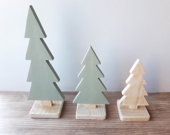Scandinavian design wood tree, ideal as decoration in a woodland nursery or a minimalist children's room. Great for Christmas