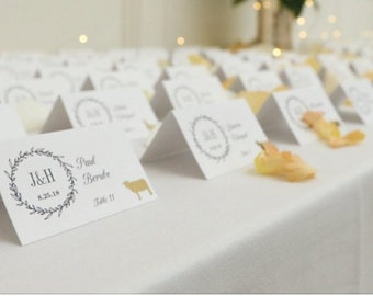 Meal Stickers, Menu Stickers Wedding, Wedding Meal Indicator Stickers