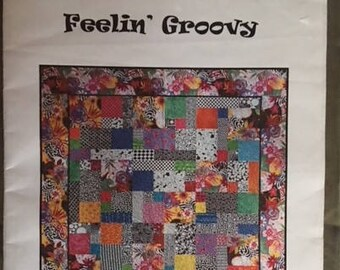 Feeling Groovy Quilt Pattern - Blue underground studios
