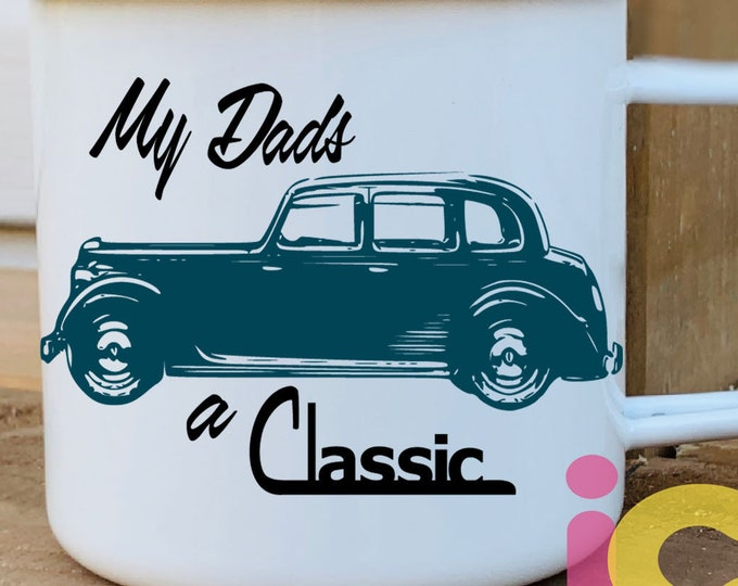MY Dad SVG, Father's day svg, old Vintage Classic Car Sublimation Cut File design Dad Svg Daddy SVG Truck svg Eps Dxf Png Silhouette, Cricut