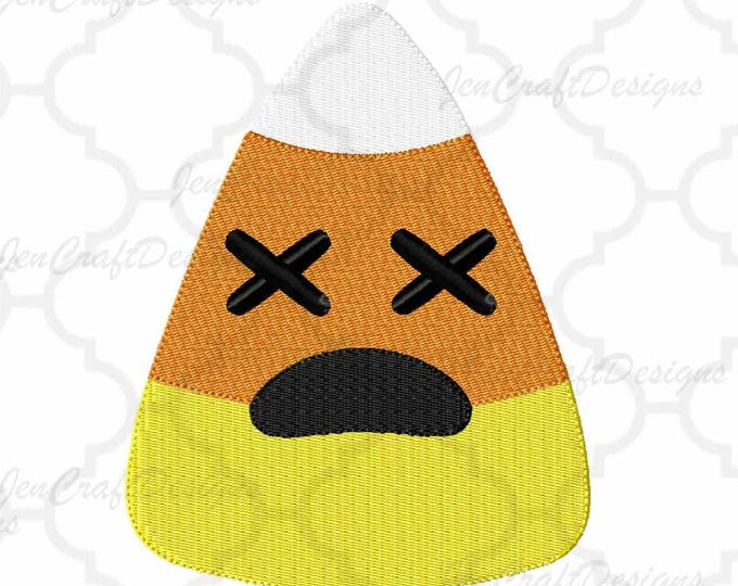 Halloween Candy Corn Embroidery Design, Fall Instant Download digital file in  EXP, HUS, Jef, Pes, Vip and Xxx