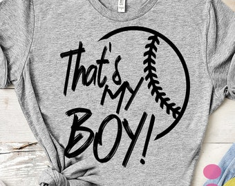 Baseball SVG, That's my boy Biggest Fan svg, Biggest Fan, Baseball Fan shirt design, Baseball cut file, sis, sister shirt