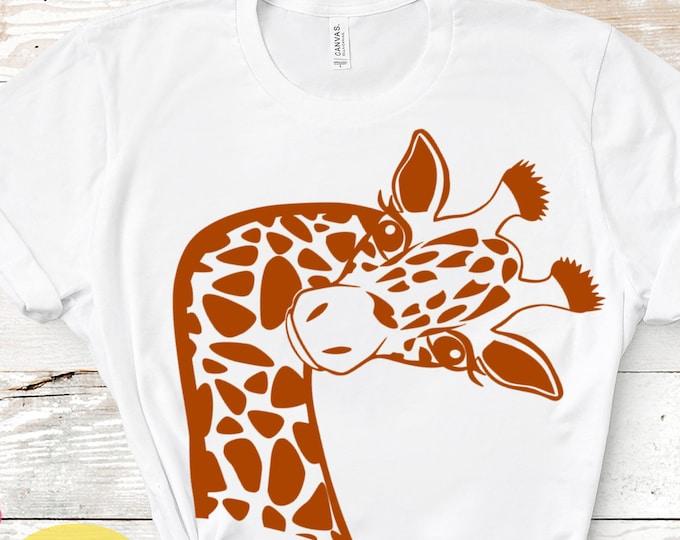 Funny Giraffe Svg, Giraffe Svg, Cute Fun Giraffe Svg, Safari Svg, Kids Svg, Giraffe Cut Files, Shirt Desgins, Cute, Fun Svg Designs
