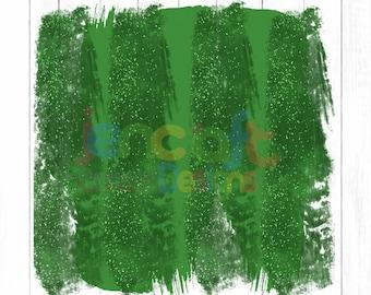 Christmas Glitter Green Brush Stroke Background Sublimation PNG design Background, Holiday, Art , Digital Print, Printable Clip Art Download