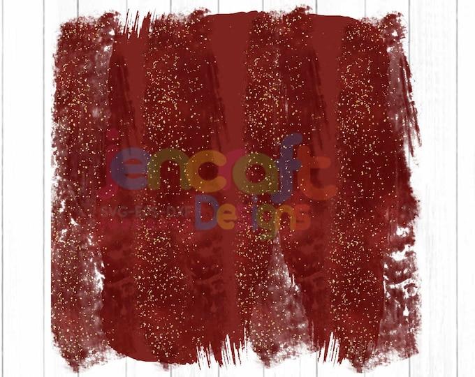 Christmas Glitter Red Brush Stroke Background Sublimation PNG design Background, Holiday, Art , Digital Print, Printable Clip Art Download