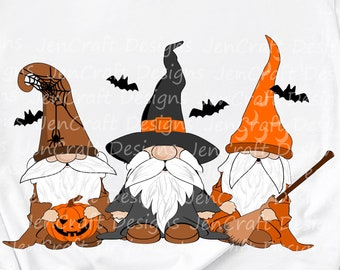 Halloween gnome svg, witch gnome, fall gnome, wizard halloween, svg, gnome, witch gnome svg, eps, dxf, png cut file sublimation print file