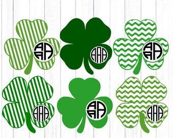 St. Patrick's Day svg Shamrock svg Monogram leprechaun svg Design St Paddy's Day Monogram SVG Cut Design,svg,dxf,png Silhouette & Cricut