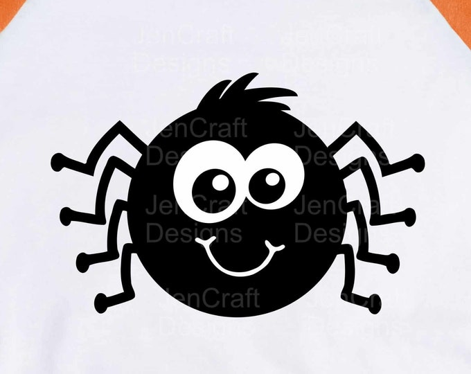 Halloween SVG, Cute Boy Spider Haloween Design Trick or treat svg, eps, dxf, png cut files for Cricut, Silhouette