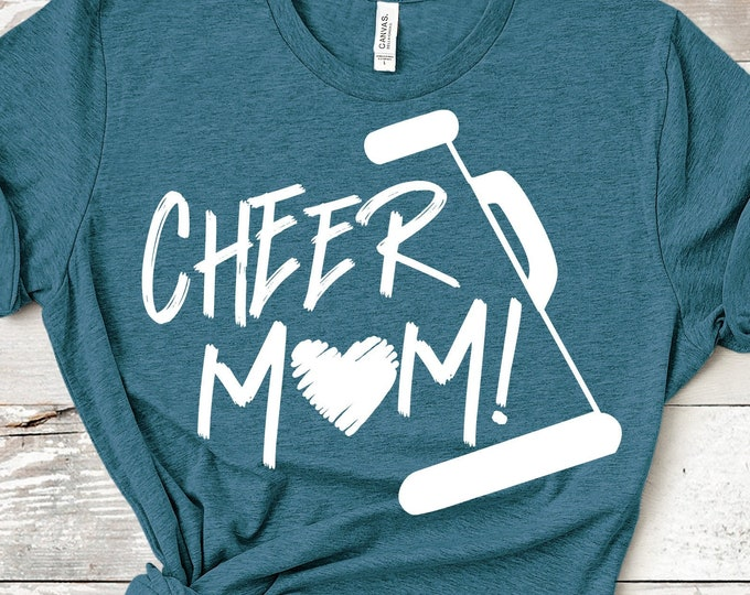 Cheer svg, Cheer Mom svg, Cheerleader svg, biggest fan, megaphone svg, coach cheer svg design cut file clipart Eps Dxf Png Cricut Silhouette