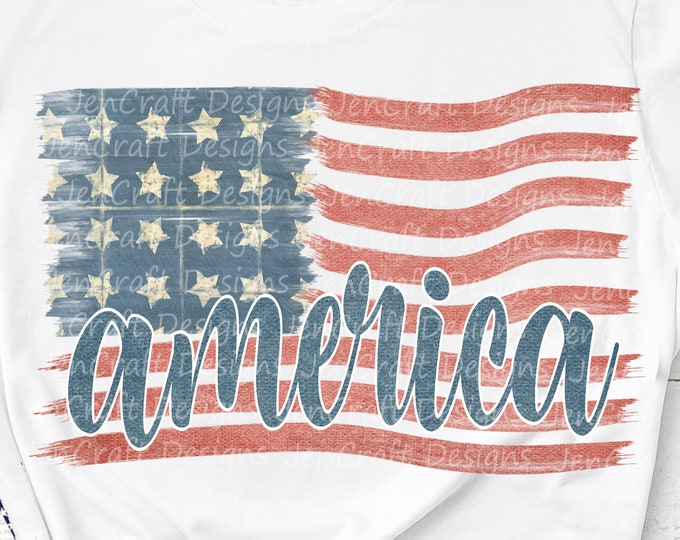 Patriotic America Flag Png, July 4th, Fourth of July, american Independence Day Png, USA, Flag, Digital Sublimation Design download