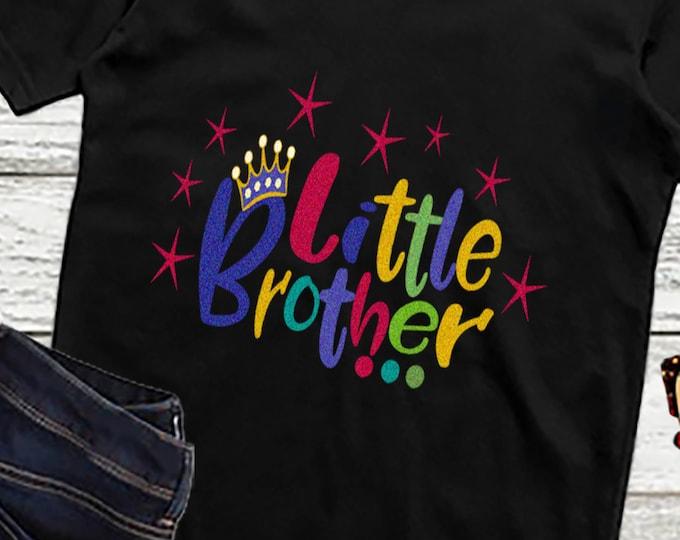 Little Brothers SVG EPS DXf cut file set, Printable Png, Cricut Design Space Silhouette Studio Digital Cut Files, Sibling