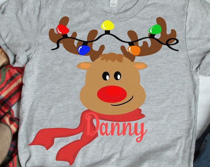 Reindeer Monogram Svg Peeping Reindeer, Peeking SVG,EPS Png DXF,digital Silhouette Cricut, vector Clip Art graphics Vinyl Cutting Machines