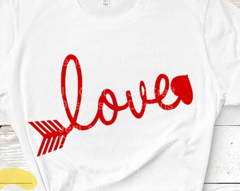 Valentines svg, Love cupid arrow svg dxf eps png files, heart files Cricut and silhouette, sublimation, cutting files